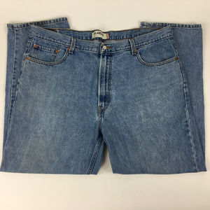 Levis 505 Jeans Size 42x30 Relaxed Fit Tapered Leg